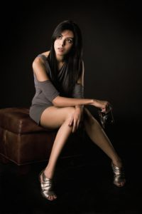 sitting photographer